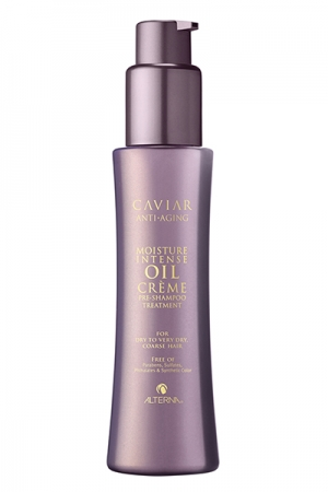Alterna sampon tratament pentru par uscat - Caviar Moisture Intense Oil Creme Pre-Shampoo Treatment