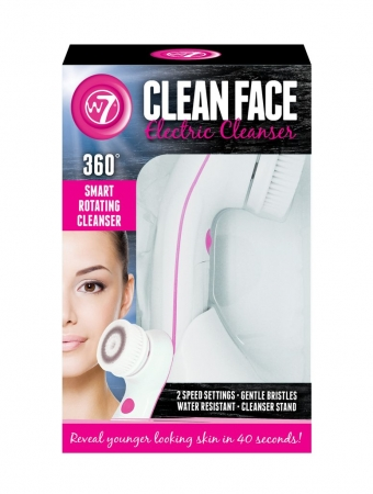 W7 Cosmetics perie electrica pentru curatarea tenului - Electric Face Cleanser