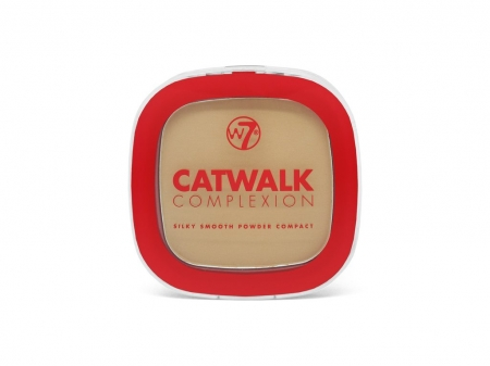 W7 Cosmetics pudra compacta - Catwalk Complexion Compact Powder - Biscuit