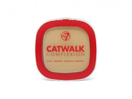 W7 Cosmetics pudra compacta - Catwalk Complexion Compact Powder - Beige