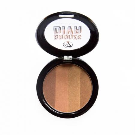 W7 Cosmetics bronzant compact - Bronze Divas Bronzing Powder - Sun Baby