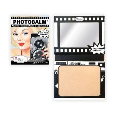 The Balm pudra compacta - PhotoBalm Powder Foundation Lighter/Light