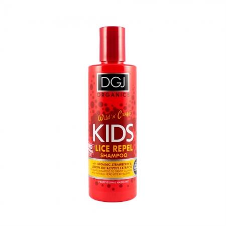 DGJ Organics sampon de par pentru paduchi - Organic Wild 'n' Crazy Kids Lice Repel Shampoo 250ml