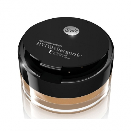 Bell pudra pulbere - HYPOAllergenic Shimmering Loose Powder (BPSSHA001)