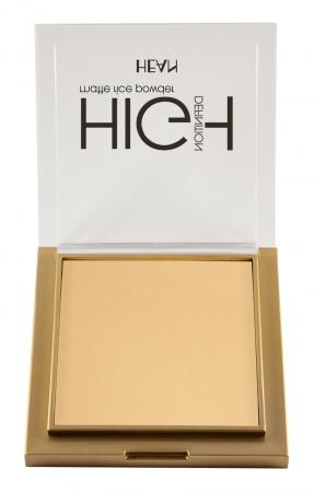 HEAN pudra compacta - High Definition Mattifying Rice Powder 303