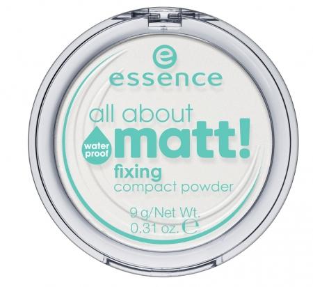essence pudra pentru fixarea machiajului - All About Matt Fixing Compact Powder Waterproof