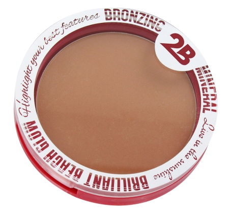 2B Cosmetics bronzant - Bronzing Mineral Powder - Brilliant Beach Glow 16 (16216)