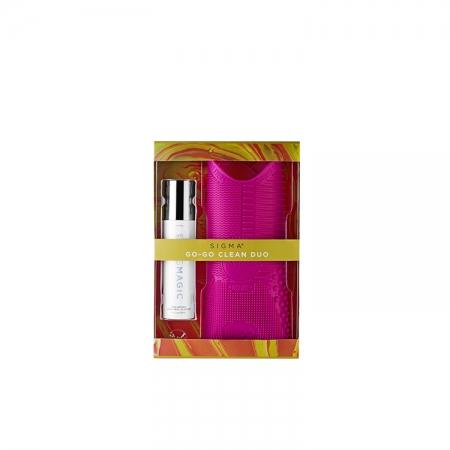 Sigma Beauty kit pentru curatarea pensulelor de machiaj - Go-Go Clean Duo
