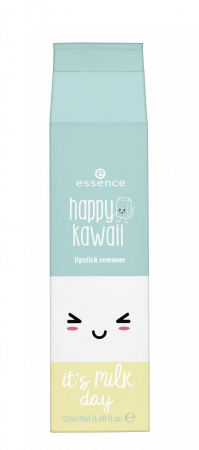 essence demachiant de buze - Happy Kawaii Lipstick Remover - 01 Love In A Bottle (Of Milk)