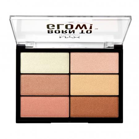 NYX Professional Makeup iluminator compact - Born to Glow! Highlighting Palette (BTGHP01)