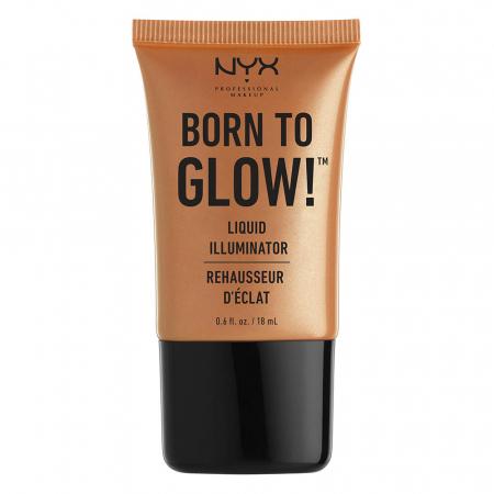 NYX Professional Makeup iluminator cremos - Born to Glow! Liquid Illuminator – Pure Gold (LI03)