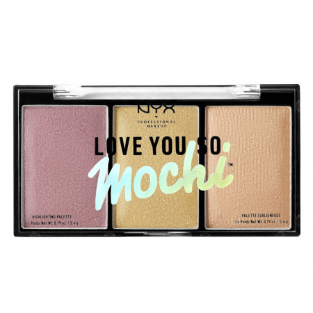 NYX Professional Makeup iluminator compact - Love You So Mochi Highlighting Palette – Lit Life (LYSMHP01)