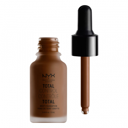 NYX Cosmetics fond de ten lichid - Total Control Drop Foundation – Deep Espress (TCDF24)
