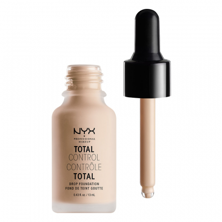 NYX Cosmetics fond de ten lichid - Total Control Drop Foundation – Porcelain (TCDF03)