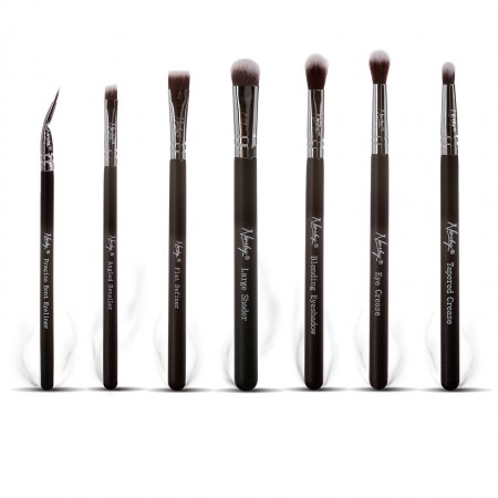 Imagine indisponibila pentru Nanshy set pensule de machiaj - Eye Brush Set (7 piece) O. Black