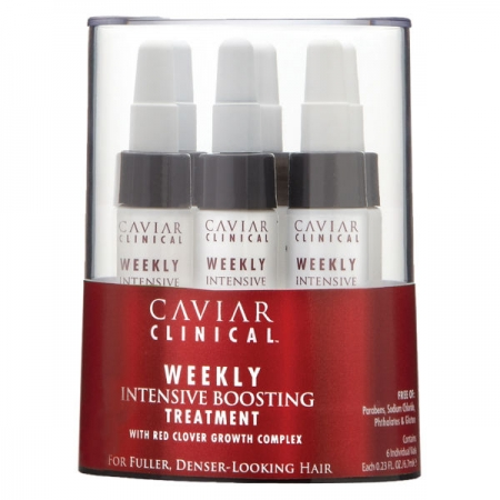 Alterna tratament pentru ingrijirea scalpului - Caviar Clinical Weekly Intensive Boosting Treatment 6 x 6 ml