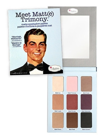 The Balm Lidschatten-Palette - Meet Matt(e) - Trimony