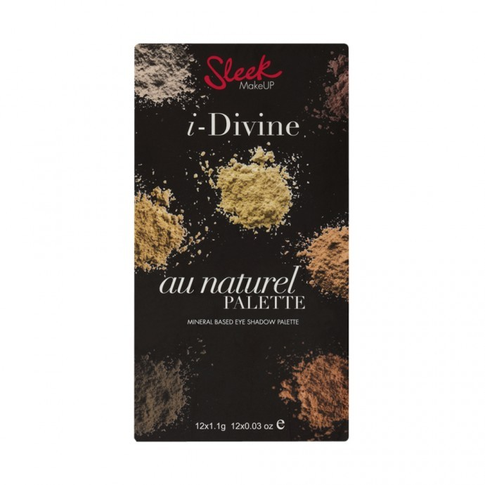 Sleek paleta sjenila -  Au Naturel I-Divine