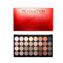 Makeup Revolution paleta 32 senčil - Ultra 32 Eyeshadow Palette Flawless Matte 2