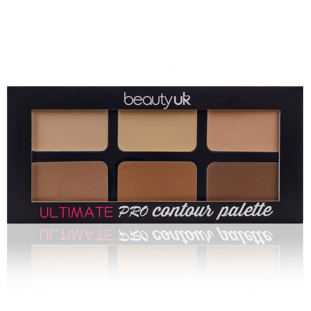 Beauty UK Ultimate Pro Contouring Palette krém kontúr paletta