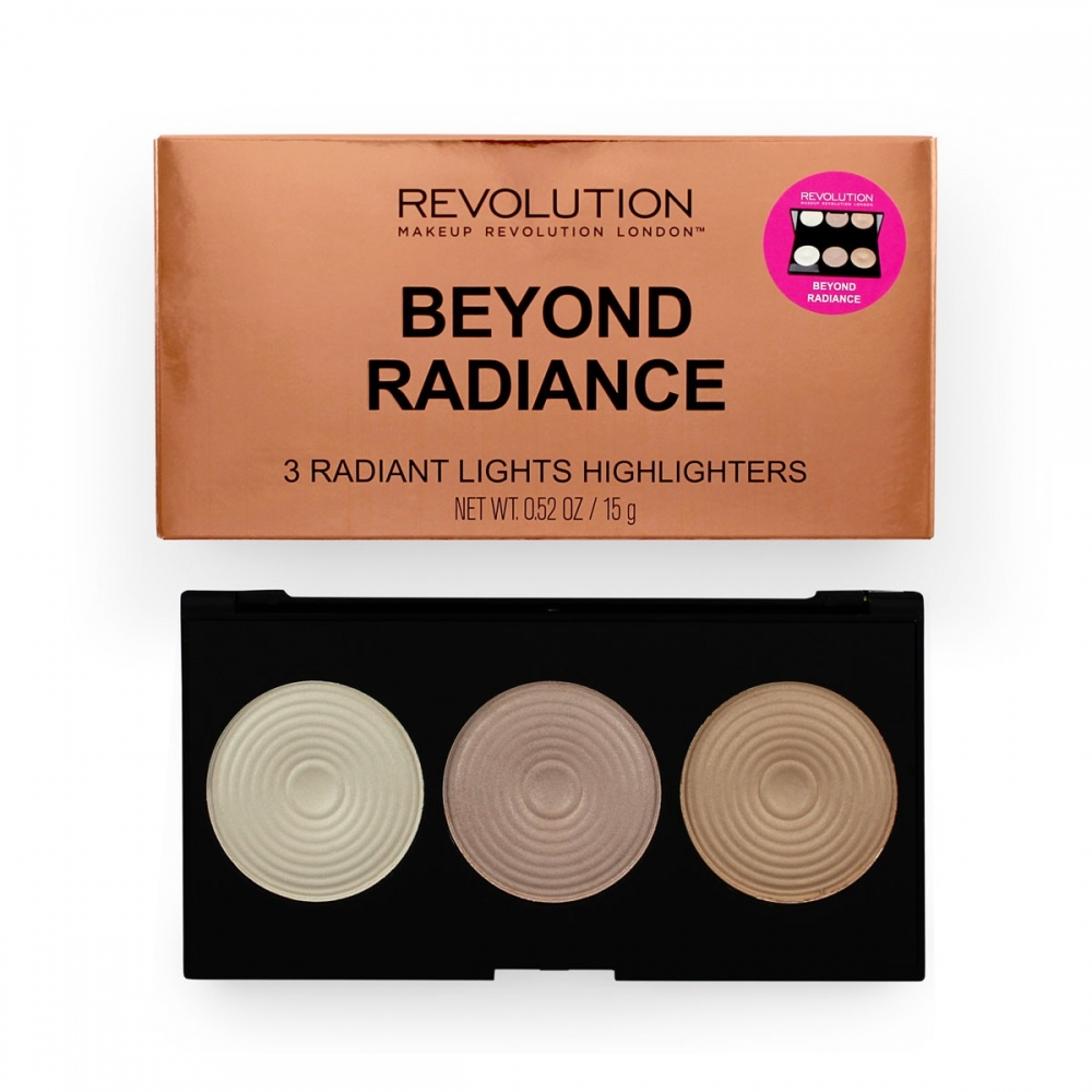 Makeup Revolution palette di illuminanti - Highlighter Palette - Beyond Radiance