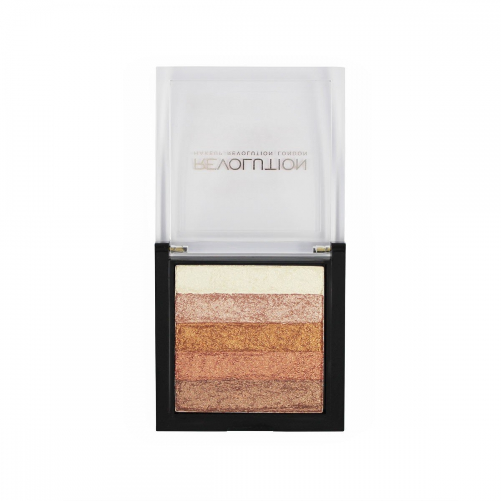 Makeup Revolution bronzer -  Vivid shimmer brick Rose Gold