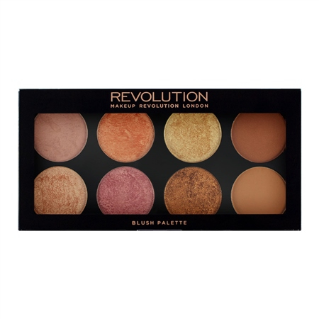 Revolution Rouge-Palette -  Golden Sugar 2 Rose Gold