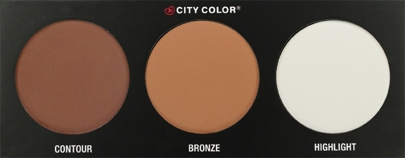 City Color Cosmetics kremna kontur paleta - Contour Effects Contouring Palette