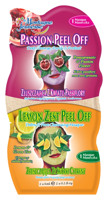 Montagne Jeunesse duo maska - Peel Off Masque/Lemon Zest