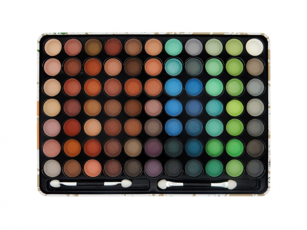 W7 Cosmetics paleta senčil - Paintbox 77 Piece Eyeshadow Palette