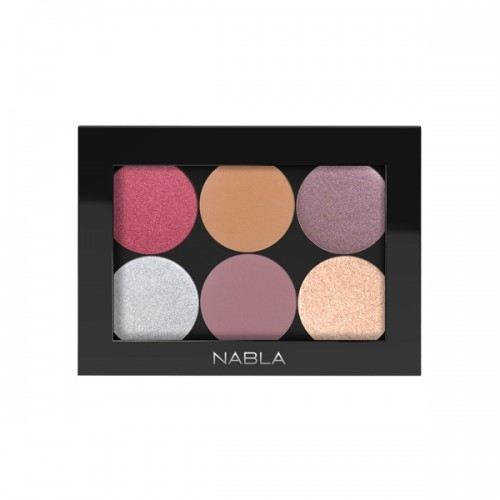 Nabla palette personalizzabile (vuota) - Liberty  Six  Costumizable Palette Black