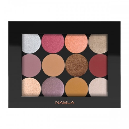 Nabla prazna magnetna paletka - Liberty Twelve Costumizable Palette Black