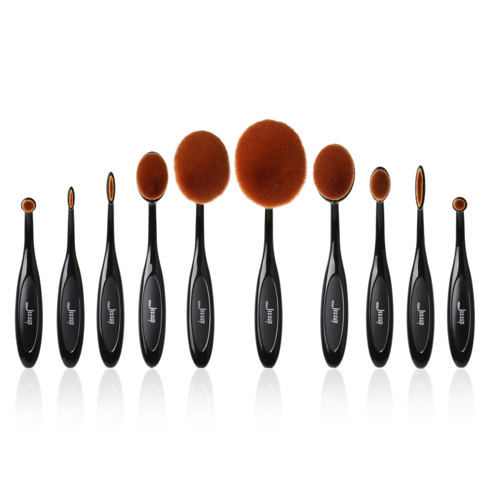 Jessup 10-teiliges Pinselset - Oval Brushes Set T117