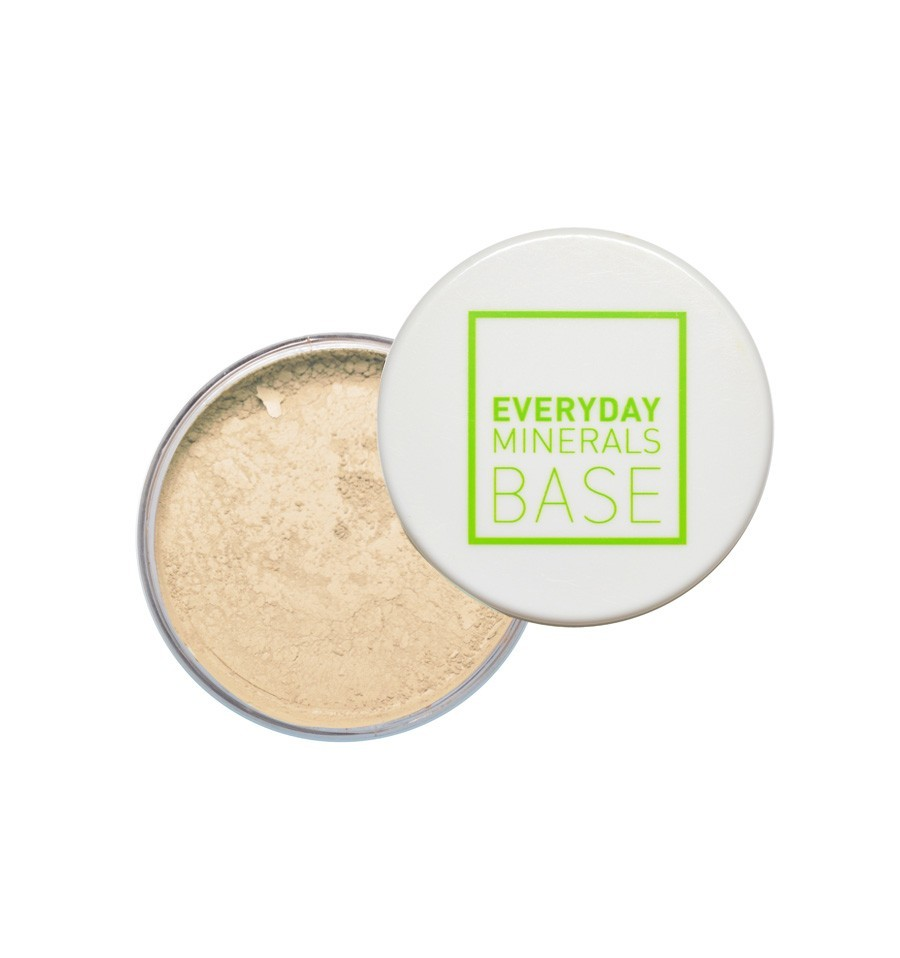 Everyday Minerals mineralni puder - 1W Golden Ivory (prej: Light Olive) (Semi Matte)