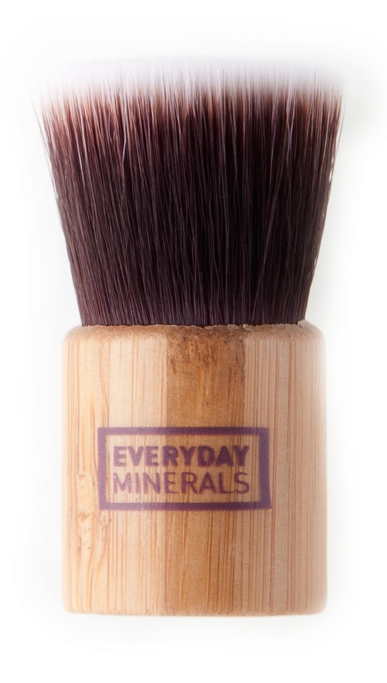 Everyday Minerals Mini Flat Top Brush - púder ecset