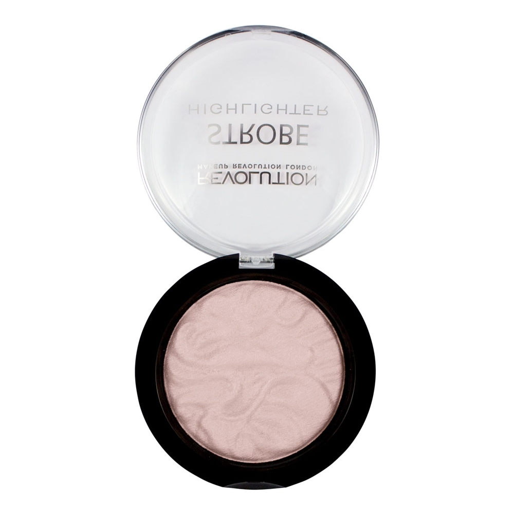 Makeup Revolution rozjasňovač -  Strobe Highlighter Moon Glow Lights,