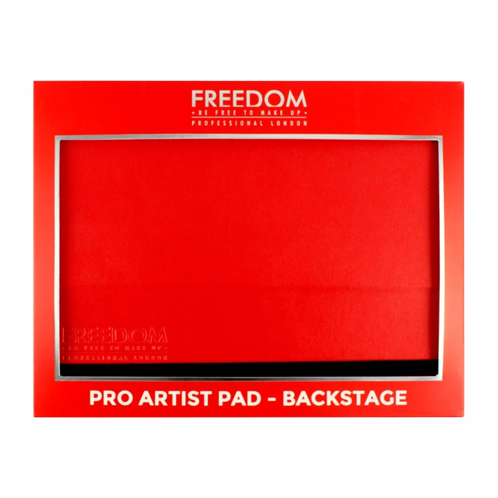 Freedom paleta rdečil in bronzerjev - Pro Artist Pad Backstage Red