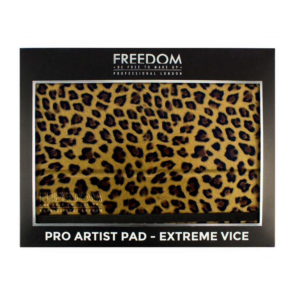 Freedom Lidschatten-Palette - Pro Artist Pad Extreme Vice (Animal)
