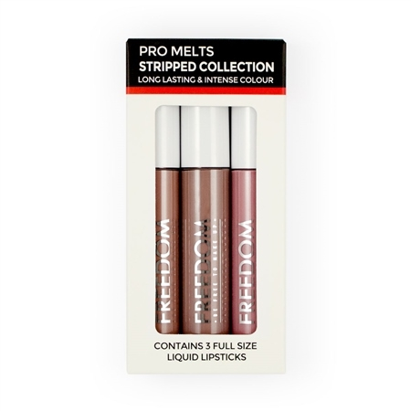 Freedom Lipgloss-Set - Pro Melts Stripped Collection