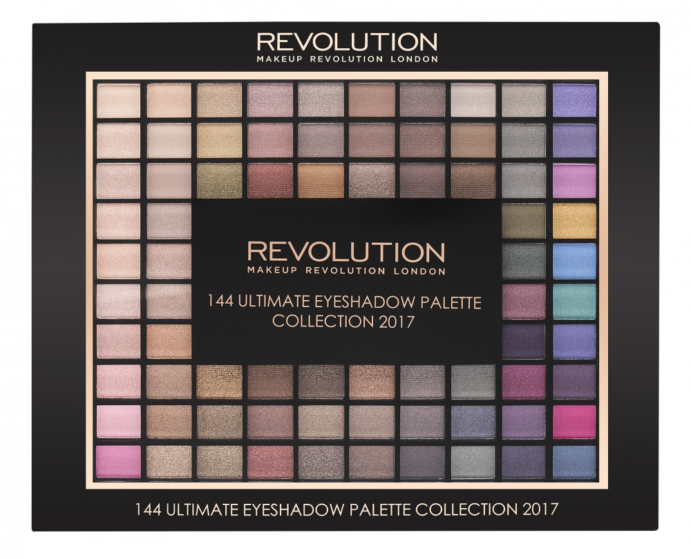 Makeup Revolution Ultimate Eyeshadow Collection 2017 (144 Eyeshadow Palette) szemhéjpúder paletta