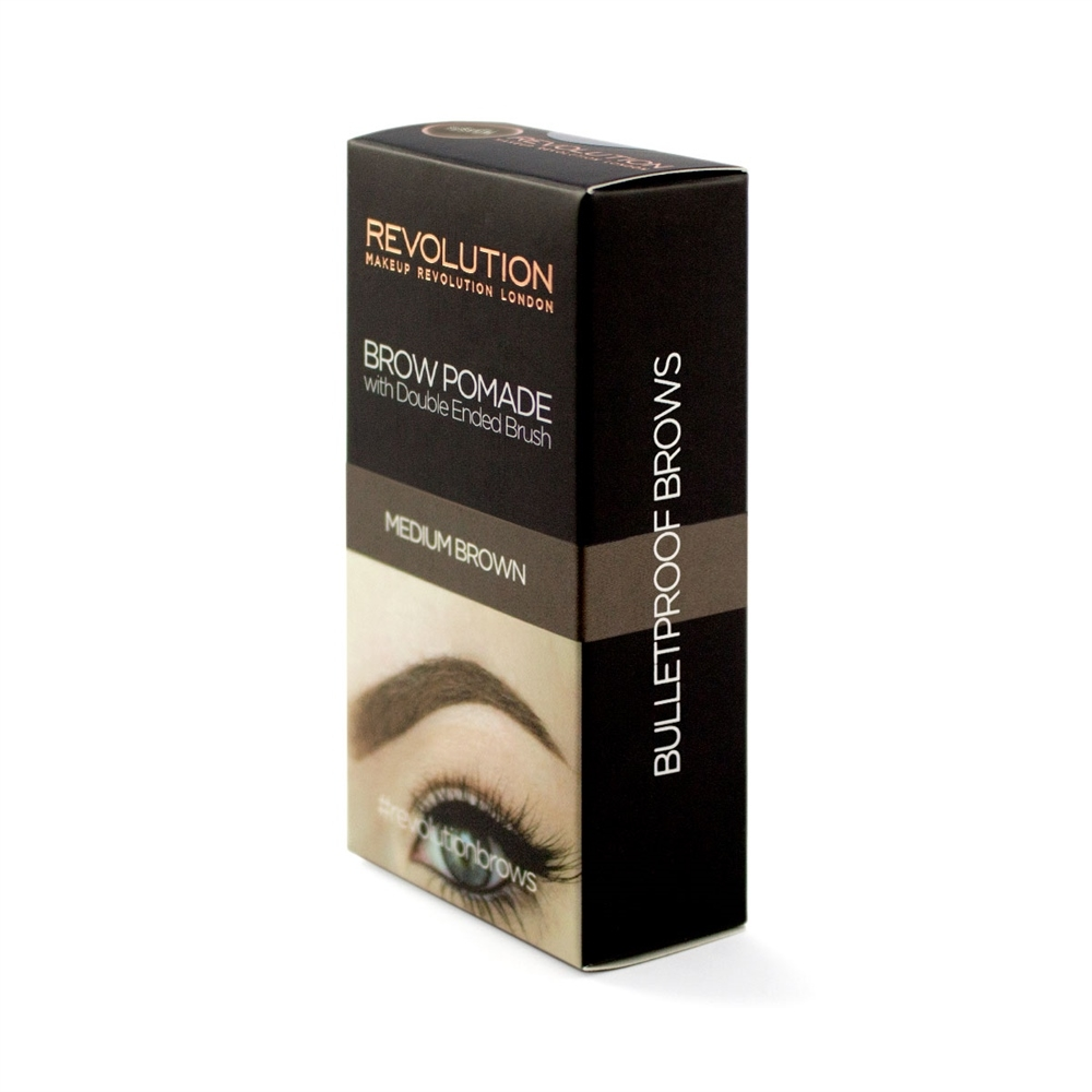 Revolution gel za obrve - Brow Pomade Medium Brown