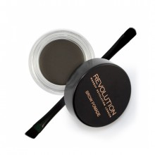 Makeup Revolution gel za obrvi - Brow Pomade Graphite