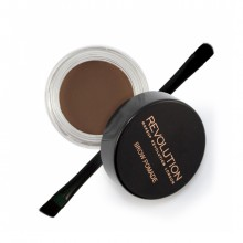 Makeup Revolution gel za obrvi - Brow Pomade Dark Brown