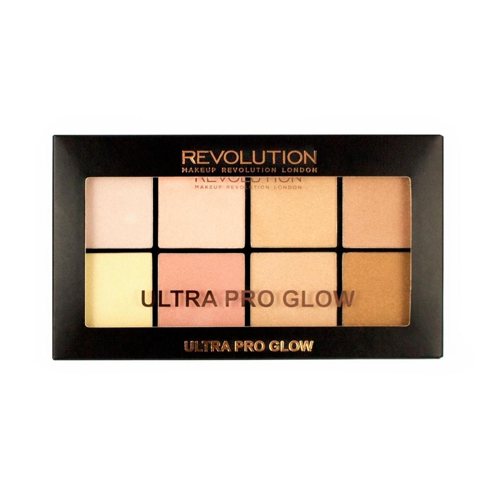makeup revolution highlighter palette ultra pro glow. Black Bedroom Furniture Sets. Home Design Ideas