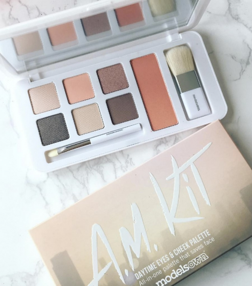 Models Own Lidschattenpalette - A.M. Kit Daytime Eyes & Cheek Palette