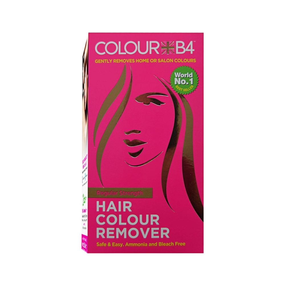 ColourB4 Haarentfärber - Hair Colour Remover - Regular