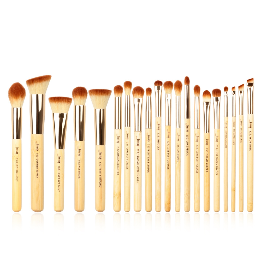 Jessup set di 20 pennelli - Bamboo Brushes Set T145