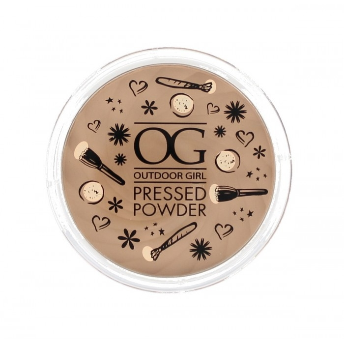 W7 Cosmetics Outdoor Girl Pressed Powder kőpúder - Translucent