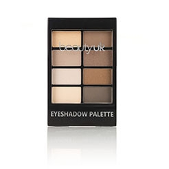 Beauty UK Lidschatten-Palette - Natural Beauty No.1