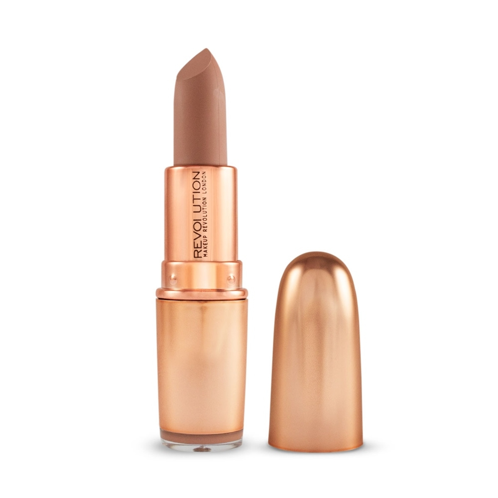 Revolution šminka - Iconic Matte Nude Revolution Lipstick - Wishful